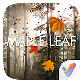 Maple Leaf Parallax V Launcher Theme