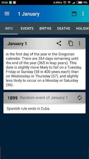 Day in History - On this Day Apk Download 1