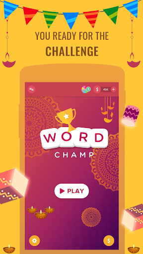 Word Champ - Word Games, Free Word Connect Game  captures d'écran 2