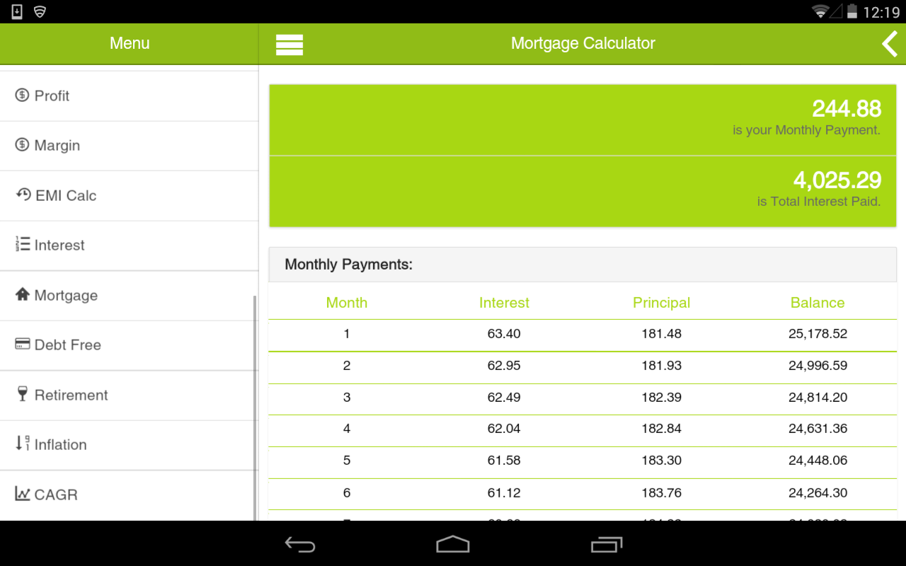 My Calculator - screenshot