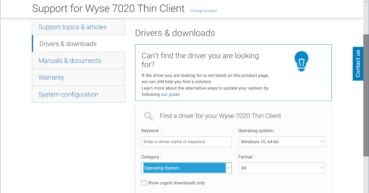 Terence Luk: Build document for Dell Wyse 7020 thin client