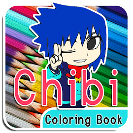 Chibi Coloring Book