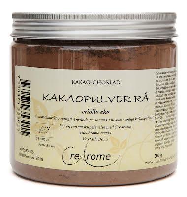 Kakaopulver rå criollo eko