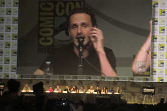 Photo: Friday - The Walking Dead panel; star Andrew Lincoln
