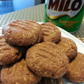 Milo Nestum Condensed Milk Cookie!