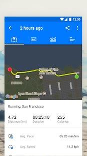 Runtastic Running App & Fitness Tracker Screenshot