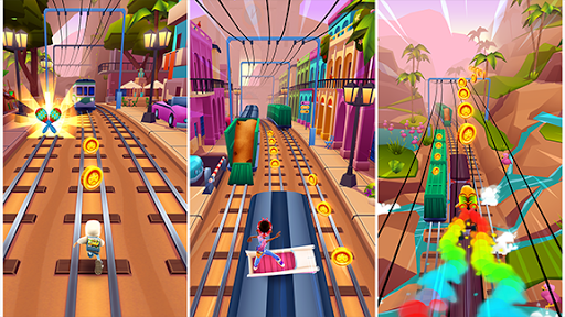 Subway Surfers  gameplay | by HackJr.Pw 7