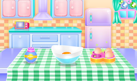 cooking games breakfast games - náhled
