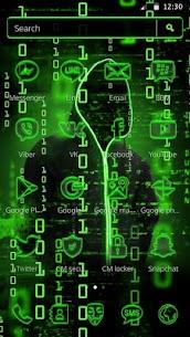 Neon Secret Hacker Launcher Theme Apk Download For Android 6