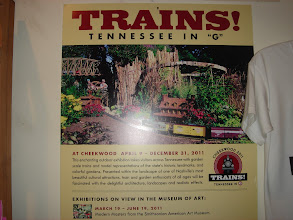 Photo: Poster for the Trains exhibit