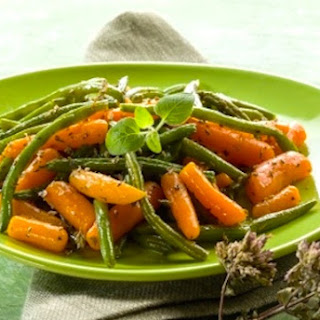 Green Beans and Carrots Sesame.