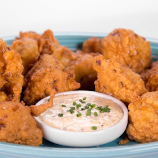 Clinton Kelly's Shrimp Fritters