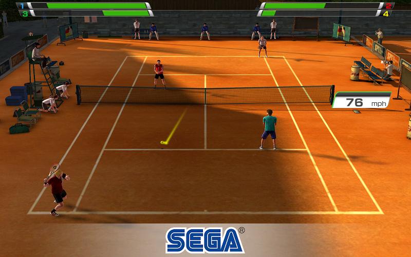 Virtua Tennis Challenge Screenshot 12