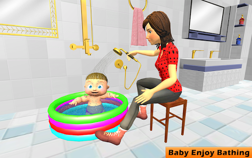 New Virtual Mother Life Simulator- Baby Care Games 1.3 screenshots 1