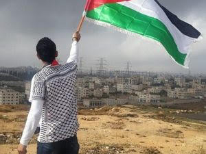Palestina bandiera sventoalta
