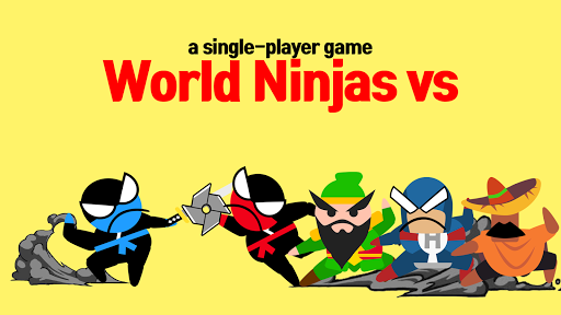 Jumping Ninja Battle - Two Player battle Action apkdebit screenshots 2