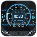 3 Day Clock Forecast Widget icon