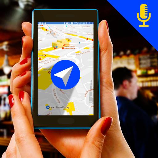 Voice Navigation GPS Route Finder & Traffic Alert