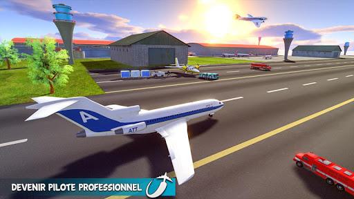 Télécharger Gratuit réal avion vol simulateur apk mod screenshots 4