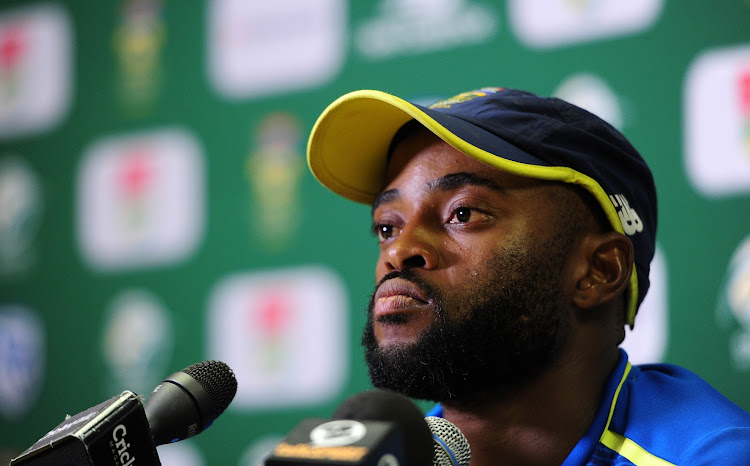 Temba Bavuma had his first captain's press conference of captain of the Proteas limited-overs side.