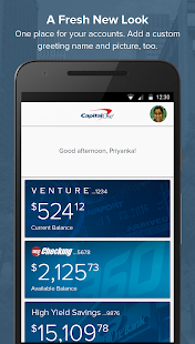 Download Capital One® Mobile For PC Windows and Mac apk screenshot 6