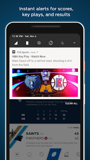 FOX Sports: Live Streaming, Scores & News  screenshots 3