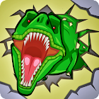 Jurassic:Dinosaur city rampage icon