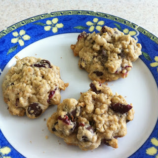 Craisin Oatmeal Chocolate Chip Cookies.