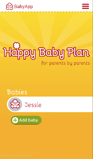 Happy Baby Plan- screenshot thumbnail