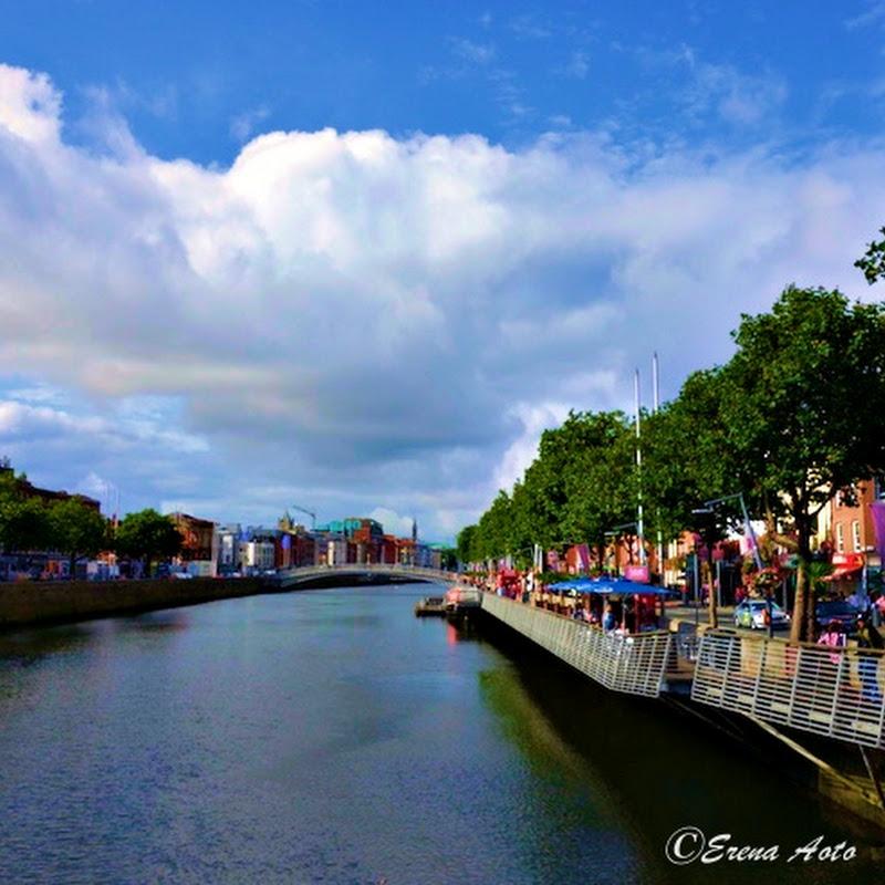 【世界の街角】アイルランド・ダブリンのリフィー川を歩く