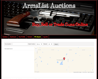 ArmsList Auctions screenshot 1