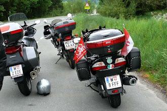 Photo: auf den Weg zum Jahrestreffen 2008 nach Radfeld, Tirol