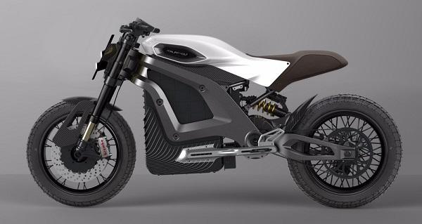 Итальянский Volt, созданный в прошлом году и находящийся в Милане, стремится стать «последним словом в технике на рынке мотоциклов».
