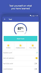 Quizlet Flashcards & Learning old version