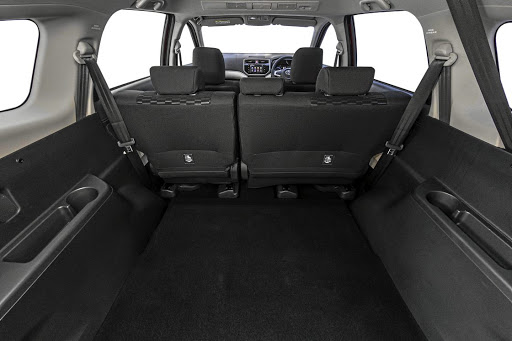 The boot space measures a vast 609l, mainly because Toyota SA is not bringing it with a third row of seats. Picture: MOTORPRESS