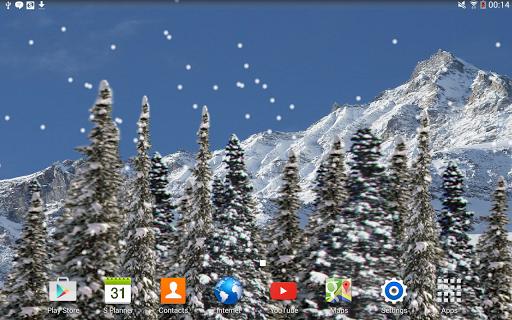 個人化必備免費app推薦|Snowfall Live Wallpaper線上免付費app下載|3C達人阿輝的APP