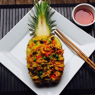 Sweet and Spicy Not-So-Fried Rice