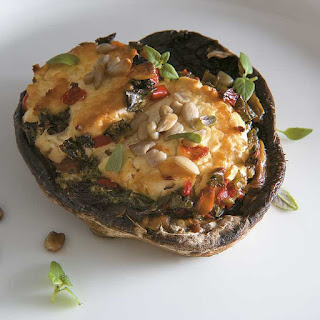 Flat Mushrooms With Goats Cheese Recipes