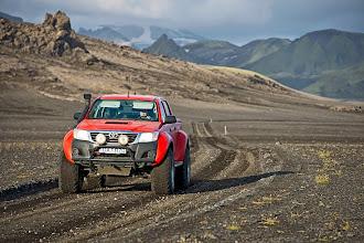 Photo: Uno dei nostri Toyota Hilux AT38 corre negli Altopiani d'Islanda. www.90est.it
