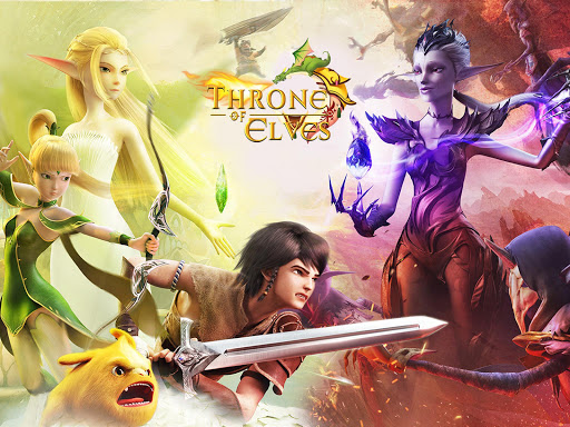 Throne of Elves: 3D Anime Action MMORPG  trampa 9