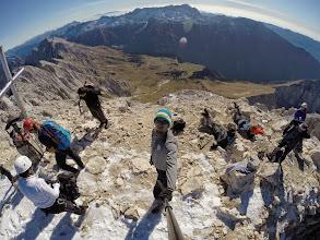 Photo: vrh okupiran s Slovenci, na srečo sta kasneje prišla dva Italjana, da sta postavila stvari vsaj približno na svoje mesto
