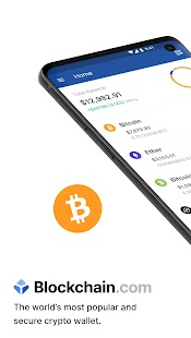 Blockchain Wallet: Buy and Sell Bitcoin & Crypto Screenshot