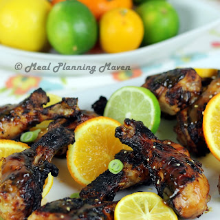 Grilled Asian Citrus Drumsticks