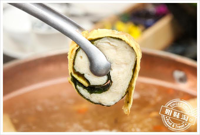 蒙娜麗莎海鮮鍋物慕斯魚薑燒豆腐