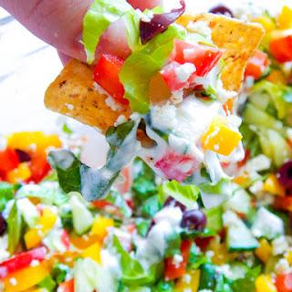 8 Layer Greek Salad Dip