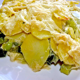 Potato Leek Gratin – Best German Casserole Recipe