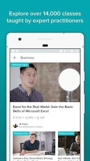 Skillshare - Online Learning 5.0.5.6 screenshots 2