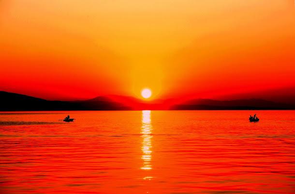 Barche al tramonto di benny48
