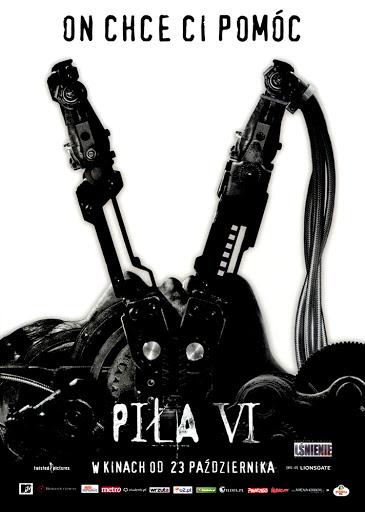 Przód ulotki filmu 'Piła VI'