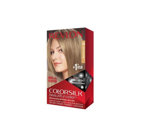 tinte revlon color silk rubio oscuro cenizo 60
